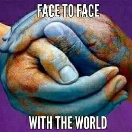 """""""Face to face ze światem – rozmawiaj i pomagaj"""""""