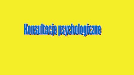 Spotkania/konsultacje psychologiczne