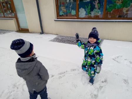 Pada śnieg :)